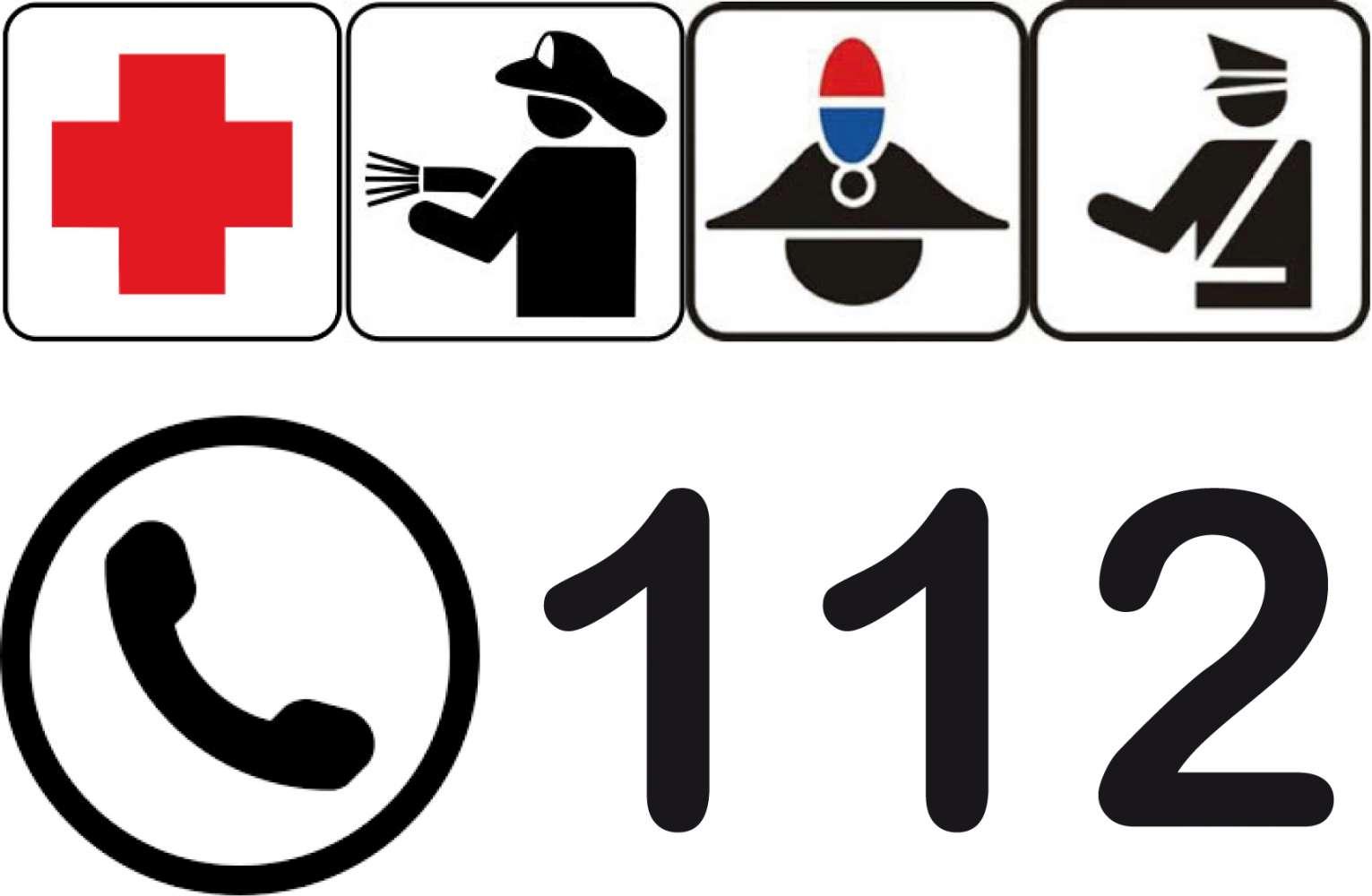 Dai 17 d'otober inant vel ince te Südtirol le numer unitar 112.