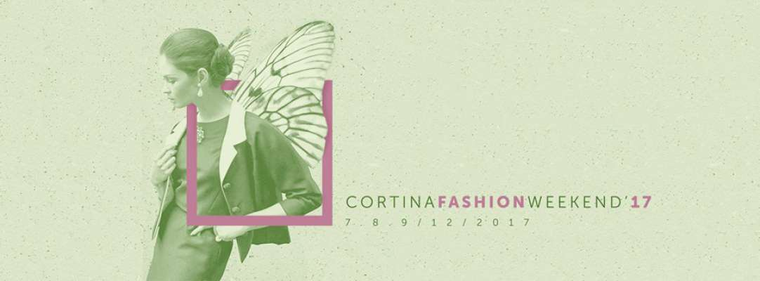 L logo vert de la edizion 2017 del Cortina Fashion Weekend.