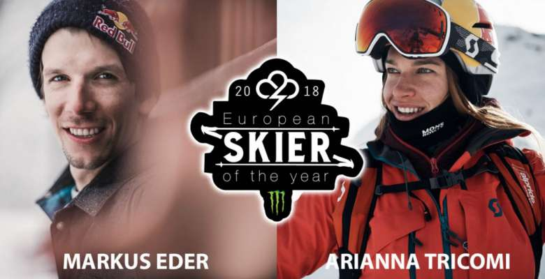 "Arianna Tricomi é ""European Skier of the year 2018"""
